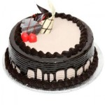 Chocolate Cream Keuchen Cake