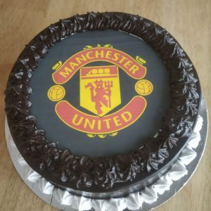 Manchester football cake